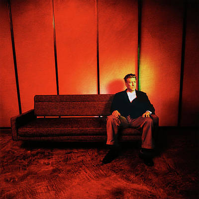 Celebrities Royalty-Free and Rights-Managed Images - David Lynch Red by Yo Pedro