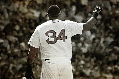 Photograph - David Ortiz - Big Papi - Boston Red Sox by Joann Vitali