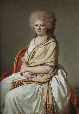 Digital Art - David Portrait Of Anne Marie Louise Thelusson by Jacques Louis David