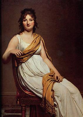 Digital Art - David Portrait Of Henriette De Verninac by Jacques Louis David