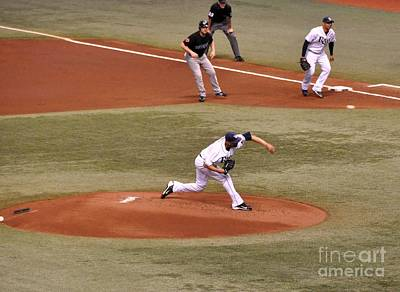 Photograph - David Price - The Pitch by John Black