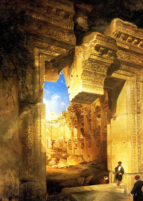 Photograph - David Roberts In Egypt by Munir Alawi