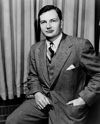 1950s Portraits Photograph - David Rockefeller B. 1915 Grandson by Everett