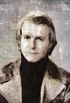 Soul Painting - David Soul, Actor And Singer by Mary Bassett