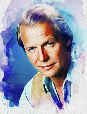 Music Paintings - David Soul, Actor/Singer by Esoterica Art Agency