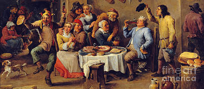 Twelfth Painting - David Teniers by MotionAge Designs