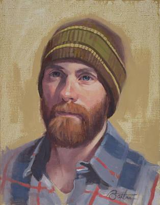 Painting - David by Todd Baxter