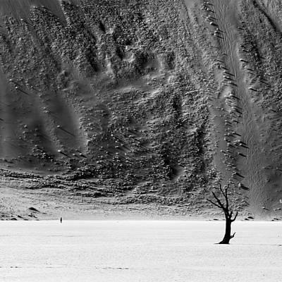 Sossusvlei Photograph - David Vs Goliath by Nina Papiorek
