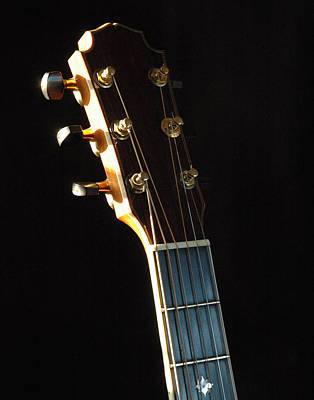 David Wren Headstock 02 Art Print by Ross Powell