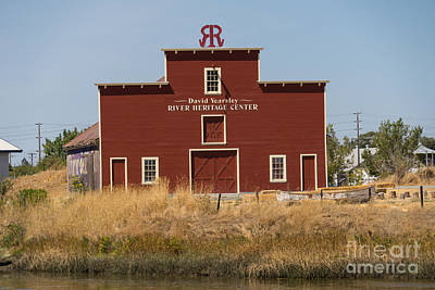 David Yearsley River Heritage Center Petaluma California Usa Dsc3863 Art Print by Wingsdomain Art and Photography