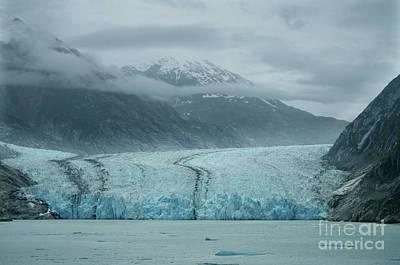 Photograph - Dawes Glacier Endicott Arm Fjord H by Rick Bures
