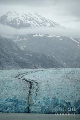 Photograph - Dawes Glacier Endicott Arm Fjord V by Rick Bures