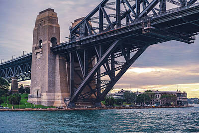 Photograph - Dawes Point, Harbour Bridge by Nisah Cheatham