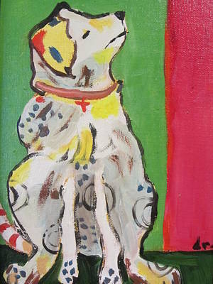 Painting - Dawg Attitude by Dody Rogers