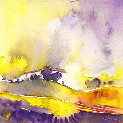 Impressionist Landscapes - Dawn 16 by Miki De Goodaboom
