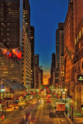 Photograph - Dawn At 42nd Street Nyc by Susan Candelario