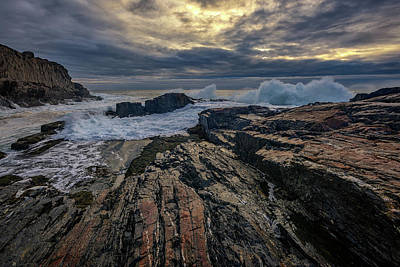 Photograph - Dawn At Bald Head Cliff by Rick Berk