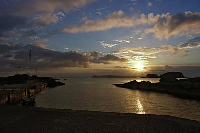 Photograph - Dawn At Ballintoy Harbour by Colin Clarke