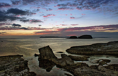 Photograph - Dawn At Ballintoy by Colin Clarke