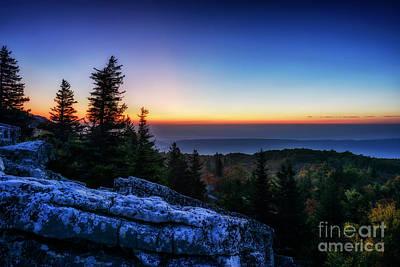 Photograph - Dawn At Bear Rocks Preserve by Thomas R Fletcher