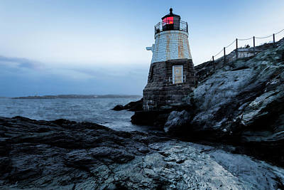 Photograph - Dawn At Castle Hill Lighthouse by Andrew Pacheco