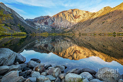 Photograph - Dawn At Convict Lake by Mimi Ditchie