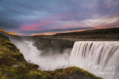 Photograph - Dawn At Dettifoss  by Michael Ver Sprill