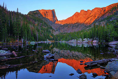 Photograph - Dawn At Dream Lake by Greg Norrell