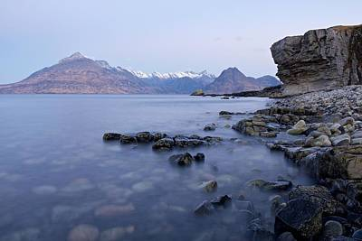 Photograph - Dawn At Elgol by Stephen Taylor