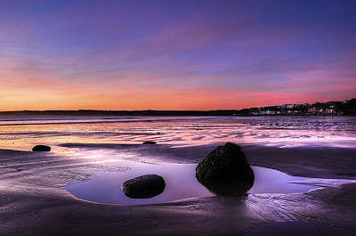 Dawn At Filey Art Print by Svetlana Sewell