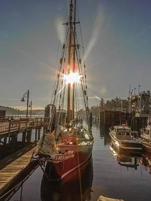 Photograph - Dawn At Friday Harbor by NaturesPix