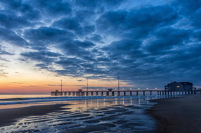 Photograph - Dawn At Jennete's Pier by Gregg Southard