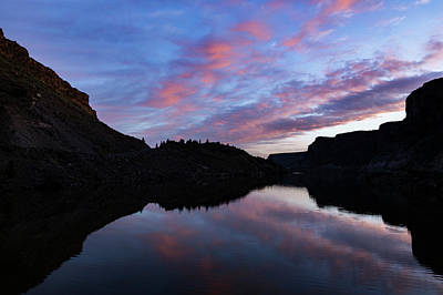 Photograph - Dawn At Lake Billy Chinook by Cat Connor