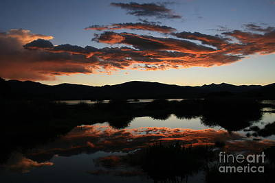 Dawn At Lake Dillon Art Print