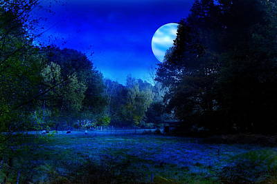 Dawn At Night Art Print