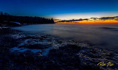 Photograph - Dawn At Split Rock by Rikk Flohr