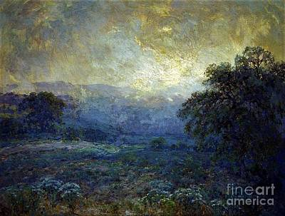 Painting - Dawn At The Hills by Pg Reproductions