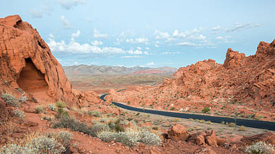 Dawn At Valley Of Fire State Park - Nv Art Print by Steve Lagreca