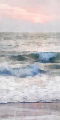 Dawn Beach Art Print by Francesa Miller