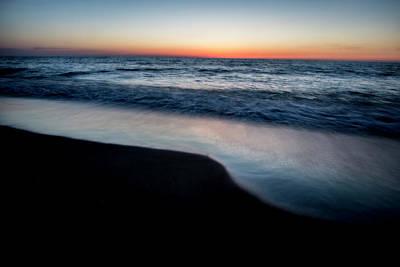 Dawn Beach Scene Art Print