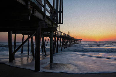 Photograph - Dawn Begins by Art Cole