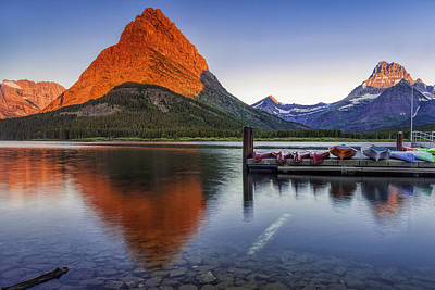 Mountain Royalty-Free and Rights-Managed Images - Dawn Breaking by Andrew Soundarajan