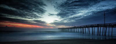Photograph - Dawn Breaking Through by Art Cole