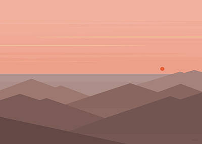 Dawn Breaks II Art Print