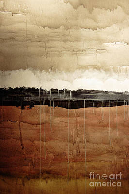 Merging Painting - Dawn by Brian Drake - Printscapes