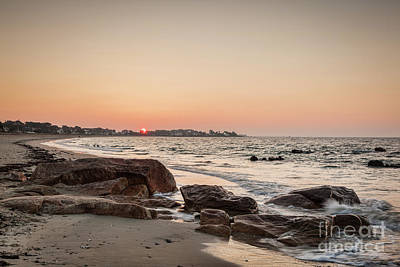 Photograph - Dawn, Carnac Beach by Colin and Linda McKie