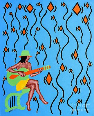 Music Paintings - Dawn Chorus by Patrick J Murphy