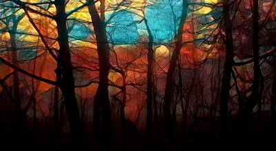 Mixed Media - Dawn Comes by Douglas Day Jones