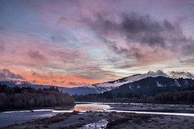 Photograph - Dawn Comes To The Eel by Greg Nyquist