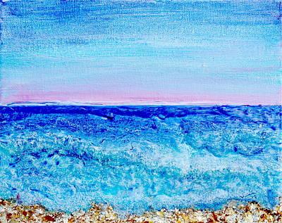 Painting - Dawn Eddies by Regina Valluzzi